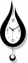 NMDD Decorative Wall Clock,Modern acrylic silent