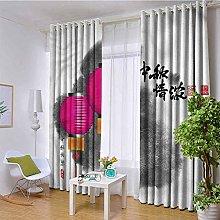 NMDD drapes Patio Sliding Door Curtain - Keep Warm
