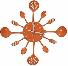 NMDD Fashion Kitchen Head Wall Clock, Kitchen