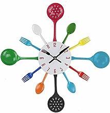 NMDD Fashion Kitchen Head Wall Clock, Kitchen