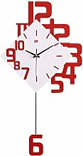 NMDD Wall Clock, Living Room Decorative Swing