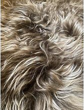 No. 3 - Icelandic Sheepskin Rug Throw - Natural