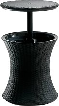 No_brand - Keter Pacific Cool Bar Rattan Antracite