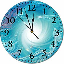 No Branded 10 inch Fashion PVC Wall Clock Ocean