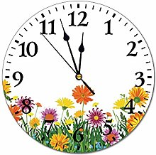 No Branded 10 inch Fashion PVC Wall Clock