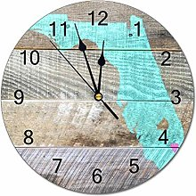 No Branded 10 inch Simplicity Wall Clock PVC