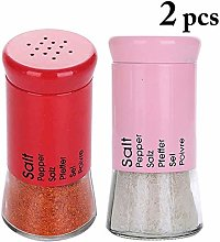 No-branded 2pcs Thicken Seasoning Glass Bottle