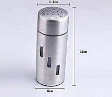 No-branded Stainless Steel Double Powder Tube
