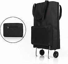 No-Branded WZGGZWGG Folding Tug Bag Shopping Cart