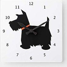 No Brands Classic Wood Clock Stylish Housewarming