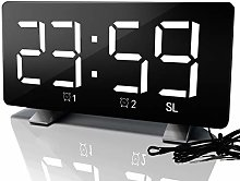 No Brands Digital Alarm Clock with FM