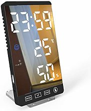 No brands Touch Button Digital Alarm Clock With