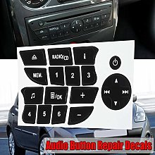 NO LOGO FJY-SPRING Car Button Repair Stickers CD