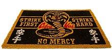No Mercy Door Mat (One Size) (Black/Yellow) -