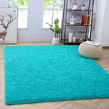 Noahas Fluffy Bedroom Rug Plush Fuzzy Rugs for