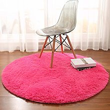 Noahas Luxury Round Rugs for Princess Castle Ultra