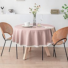 NOBCE Tablecloth Creative Fashion Polyester Round