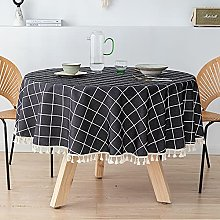NOBCE Tablecloth Fashionable Polyester Waterproof