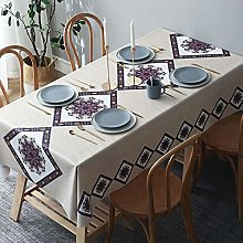 NOBCE Tablecloth Oil- And Stain-Proof Pvc