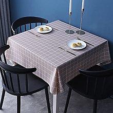NOBCE Tablecloth Pvc Antifouling Reusable