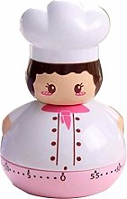 Nobenx Kitchen timer 1PCS Cartoon Mini Chef