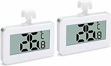 Noblik 2Pack Refrigerator Thermometer, Digital