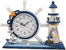 NOBLJX Lighthouse Mantle Clocks Ocean Nautical