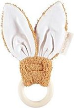Nobodinoz - Bunny Teether Ring 7 cm Caramel