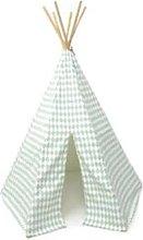 Nobodinoz - Green Cotton Diamonds Arizona Tipi
