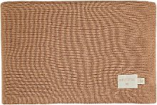 Nobodinoz - Knitted Baby Blanket - Biscuit -