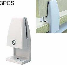 NOBRAND 3 PCS L Shape Aluminum Alloy Handrail