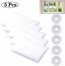 NOBRAND 5 Pcs Mosquito Net for Windows, Fly Window