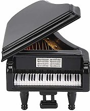 NOBRAND Black Grand Piano Model Miniature Basswood