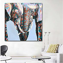 NOBRAND Canvas Painting Modern Colorful African