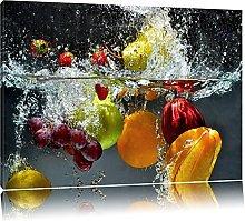 NOBRAND Canvas Prints Art Picture Fruits Falling