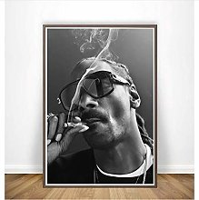 NOBRAND Print On Canvas Frameless Painting Snoop