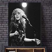 NOBRAND Print On Canvas Frameless Painting Stevie