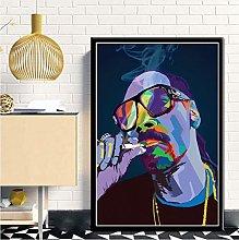 NOBRAND Snoop Dog Pop Art Hiphop Rapper Music