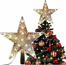 Nobranded Christmas Star Tree Topper Lights 6 inch