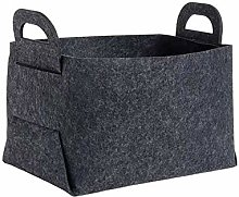 nobranded Foldable Felt Laundry Basket Bin Large