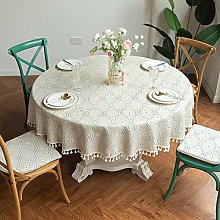 nobranded Round Printing Tablecloth With
