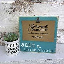 NoBrands Aunt Picture Frame - Aunt Definition -