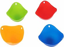 nobrands Kitchen Egg Cup,4Pcs/Set Silicone Egg Cup