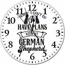 NoBrands Silent Wall Clock, PVC Wall Clocks,