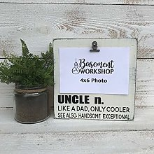 NoBrands Uncle Picture Frame - Gift For Uncle-