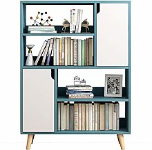 Nobrannd Bookcase Floor Bookcase With 4 Shelves 2