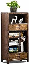 Nobrannd Bookcase Solid Wood Storage Cabinet