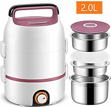 Nobuddy Electric Lunch Box 2L,Portable Food Heater