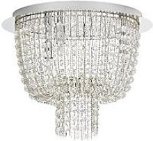 Noelle 4 Light Flush Chandelier