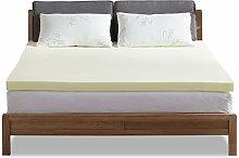 NOFFA Memory Foam Mattress Topper Double bed,2